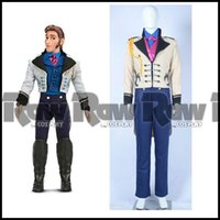 Cheap character cosplay costumes Best prince hans tail coat