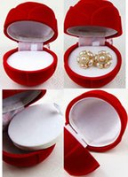 Wholesale Charming Rose Jewelry Boxes Sizes Home Decorations Novelty Girls Jewel Holders Small Middle Large Sizes