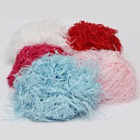 Wholesale 100g Shredded Tissue Paper Gift Wrapping Hamper Basket Coloured Filler Packaging