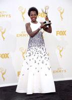 apple tv black - 2015 Viola Davis Evening Dresses The th Emmy Awards TV Queen A Line Cheap Celebrity Dresses Plus Size Red Carpet Gown