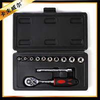 Wholesale Stainless steel auto ratchet socket wrench set Two way small fly ratchet wrench