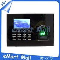 time clock - Biometric fingerprint time clock attendance recorder timing employee sensor machine reader HJ699