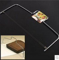 adjustable cake cutter - Adjustable Wire Cake Slicer Leveler Stainless Steel Slices Cutter Tools Kitchen Accessories Cake cut tools With adjustable steel wires New