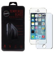 Wholesale Tempered Glass Screen Protectors D Explosion For iphone plus Samsung S5 S6 Note Sony retail box