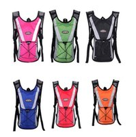 Wholesale Shoulders Backpack Bicycle rucksacks Pack sack Casual couple cycling bag Knapsack Riding running school bags Rider packet MC