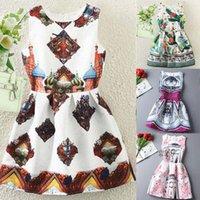 Cheap New summer dress 2015 women casual print dress european style vest vintage dresses women clothing Vestidos dress
