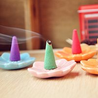Wholesale 40PCS set sets home aromatizer chinese traditional natural aromatherapy Spices Cone incense With Pallet