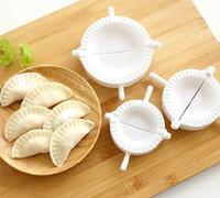 Wholesale 3pcs Press Ravioli Dough Pastry Pie Dumpling Maker Gyoza Empanada Mold Mould Tool Size Easy Eco Friendly Dumpling Mould