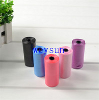 Wholesale 20 Rolls Degradable Pet Poop Bags Dog Cat Waste Pick Up Clean Bag Refill Bags Promotion