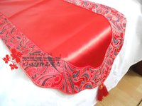 banner gift - The new high end luxury models shipping cotton bed cloud head table flag banner wedding housewarming gifts of Foreign Affairs