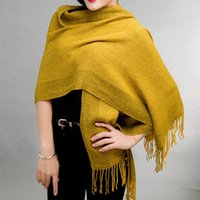 Wholesale Cashmere Shawl of Women s Fashion Sesame point Style Winter High Quality Casual Scarf Colors Cashmere Shawl Z031
