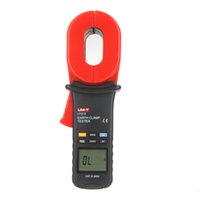 Wholesale UNI T Professional Auto Range ohm Clamp Earth Ground Resistance Testers w A Leakage Current Test UT275 order lt no track