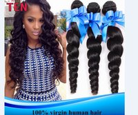 Wholesale Hot Lowest Price A inches Indian Peruvian Malaysia Brazilian Hair Weaves Full Head Human Hair Weave