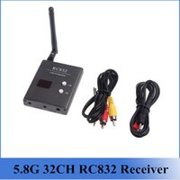 electric cable - Boscam FPV G GHz Channels RC832 Receiver With A V and Power Cables