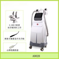 beauty parlor - 2016 New Latest detection heart rate cryolipolysis handle slimming machine Frozen Cooling technology slimming device beauty parlor salon