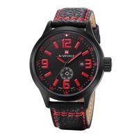 replicas - smart watches for mens fashion watch luxury watches replicas watches Military watch leather watchband Quartz movement colour wrist watch