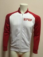 Cheap 2016 Spain football jacket men's sport coat winter outdoor soccer jacket men's soccer athletic apparel tracksuit European Country Team kit