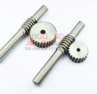 Wholesale 1 M T Gear gear rod Gear d mm steel Precision worm gear transmission gear rod L MM D MM