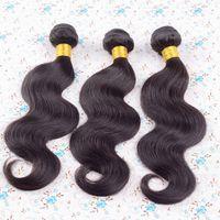 3 bundles of brazilian hair - Brazilian virgin hair body wave hair bundles of brazilian body wave in stock cheap g human hair extensions virgin brazilian hair weave