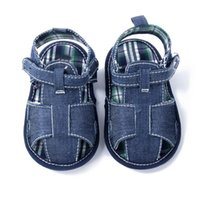Wholesale New Blue baby sandal shoes baby shoes Clogs Sandals