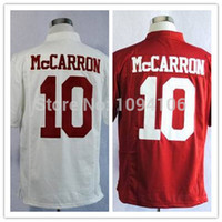 alabama authentic jersey - Factory Outlet Alabama Crimson Tide AJ McCarron Jersey White Red Men s Ncaa College Authentic Stitched Football Jerseys New Mix Or