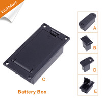active basses - CHEAP Quality V Battery Box Case holder for Active Guitar Bass Pickup