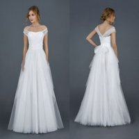 adjustable floor - 2016 Wedding Dresses with Adjustable Straps Bridal Princess Gowns Cheap Ruffled Tulle Floor Length Garden Wedding Gowns