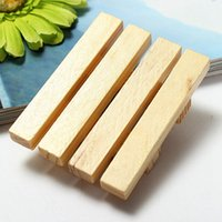 Wholesale 2015 New Natural Wooden Soap Tray Holder Dish Box Shower Wash Home Bathroom Soap Case x7x2cm