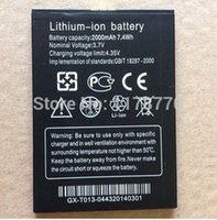 Wholesale 1 mah lithium ion Brabd New battery for THL W200 w200s W200C mobile phone Tracking code