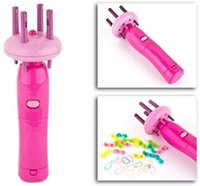 Wholesale 25pcs Fast hair braider Braid x press Twist head weaver Salon hair styling tool HL