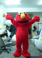 adult elmo costume - Hot Sale Fancy Custom Products costumes mascot Cartoon Characters Costumes COUPLE SESAME STREET MONSTER COOKIE AND ELMO COSTUME ADULT