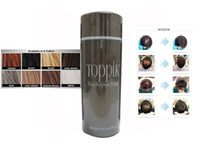 Wholesale HOT Selling Toppik Brand Natural Keratin Building Fiber Hair g Powders Black or Dark Brown