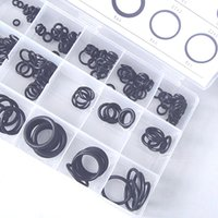 Wholesale 225PCS Hot Sale Rubber O Ring O Ring Washer Seals Assortment Black Sizes