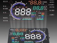 Wholesale 2015 new Brand A8 HUD head up display High speed with mutil functional LED head up display for all OBD II and EU OBD car