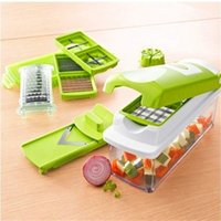 Wholesale 6pcs Lowest Price Nicer Dicer Plus Vegetables Fruits Dicer Food Slicer Cutter Containers Chopper Peelers