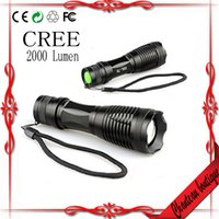 absolute work - Absolute CREE XML T6 LED Flashlight Lumens Mode Zoomable Torch use or AAA