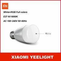 Wholesale Xiaomi Lamp Yeelight Samrt Bulb Light Wireless Control LED Light Lamp White RGB Exclusive Design For Xiaomi Router