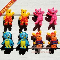 backyardigans animals - Min Order the Backyardigans PVC Shoe Charms Buckle Fit for Shoes Bracelets Charm Decoration Shoe Accessories Party Gift