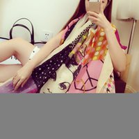 Wholesale 2015 new hit color wild comfort cotton air conditioning sunscreen shawl scarf in beauty pattern S232