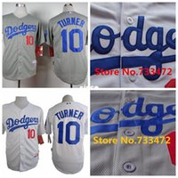 best turner - 30 Teams Los Angeles Dodgers Justin Turner Jersey White Gray Best Stitched Super Quality Shirt Cheap Sport Jerseys Fast