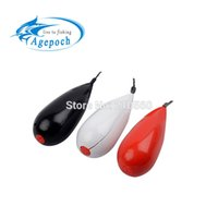 Wholesale Agepoch Fishing Tools Long Shot Recycled Bomb Shaped Put Bait Fishing Gear Shape Pit Organ Fishing Bait Container