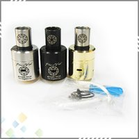 Wholesale 1 Clone Plume Veil Atomizer Ecig Plumeveil Atomizer Plume Veil RDA for Mechanical Mod with thread DHL Free