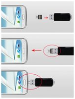 Wholesale DM OTG adapter OTG function Turn into Phone USB Flash Drive Mobile Phone Cell Phone Adapters Fit For Samsung Model With Retail Box New