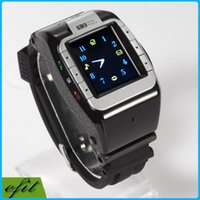android cell spy - N388 Smart Wrist Bluetooth Watch M Spy Camera quot Touch Screen MP3 FM SIM GPRS IP Call N388 JAVA Unlocked Mobile Watch Cell Phone