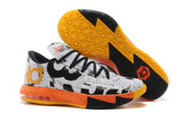 kd shoes mens - Hot Kevin Durant Kd VI MVP Mens Basketball Shoes Kd6 Sneakers With Tick