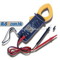 Cheap DM6016 AC Current Clamp Meter Multimeter compared Fluke