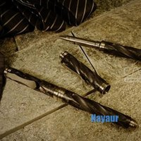 Wholesale Carson Flow Titanium Tactical pen military Self defense products personal self defence survival hand tools selfe defense stinger