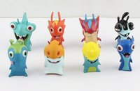 Wholesale Slugterra Figures PVC Action Figures Dolls Children Toys Christmas Gifts CM T3084