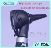 Wholesale DHL TOP Grade Medical Ear fiber Optic Otoscope with senior pack