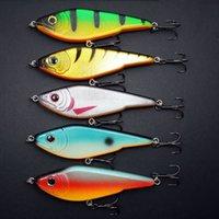 Wholesale M X VIB MegaBait mm g Pike Luce lure Buster Jerk Bait Fishing Lure Bait Mustad Hook Fishing Tackle